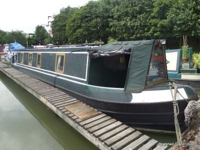 Narrowboat 38ft Cruiser Stern by Stenson Boats