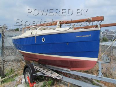 Cornish Shrimper 19 Inboard Diesel with trailer
