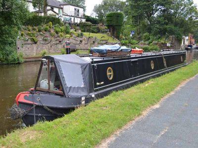 Narrowboat 57ft Trad Stern