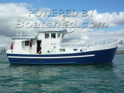 Steel House Boat Trawler Conversion