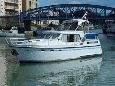 Dutch Steel River Cruiser HOLLANDIA SL1100 vedette fluviale