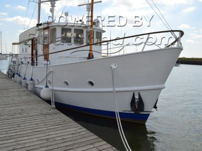 Dutch Trawler Yacht  65ft - Steel
