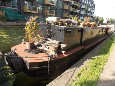 Narrowboat 53 Converted Workboat Project