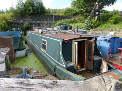 Narrowboat 50ft TradStern Pat Buckle - PROJECT