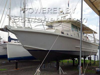 Aluminium 58ft Trawler Yacht