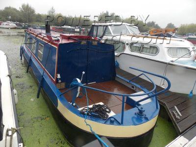 Narrowboat 33ft Harborough Marine