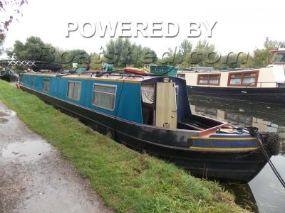 Narrowboat 70ft Cruiser Stern With 3 cabins