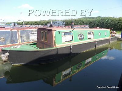 Narrowboat 39ft Cruiser Stern