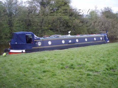 Narrowboat 54ft Cruiser Stern