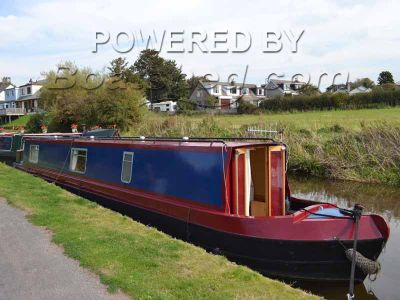 Narrowboat 56ft Cruiser Stern - With Mooring