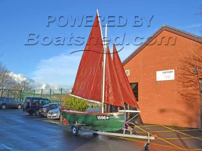 Lune Whammel 17ft Classic Day Sailer