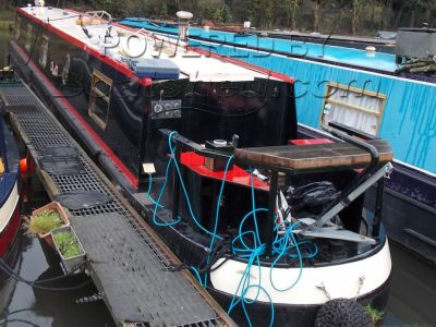 Narrowboat 57ft Cruiser Stern With Mooring