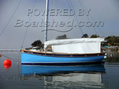 Tosher 20 Gaff Sloop with Cabin and inboard