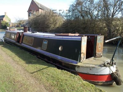 Narrowboat 45ft Trad Stern Part Finished Project