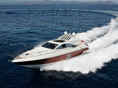 Azimut 68S Red Hull