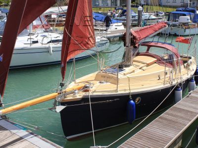 Cornish Crabber Cutter 24 Bermudan rigged