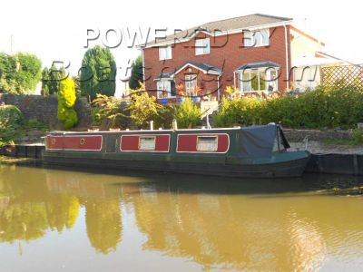 Narrowboat 50ft TradStern