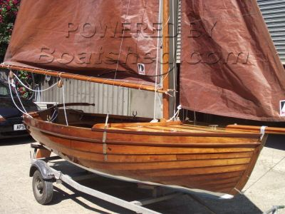 Classic Wooden Broads Sailing Yacht Classic sailing yacht