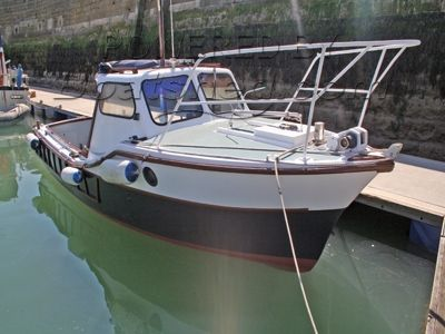 22ft Colvic Seaworker Fishing Boat