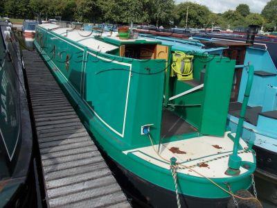 Narrowboat 56ft Semi Trad Stern