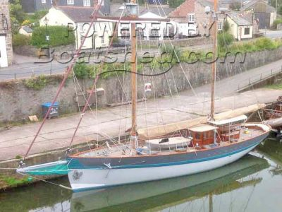 St Malo Pilot Cutter  - Luxurious Blue Water Cruiser