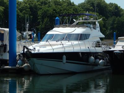 Sunseeker Manhattan 58 Burgundy or Med. mooring available