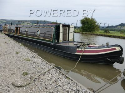 Narrowboat 57ft Trad Stern Tyler-Wilson
