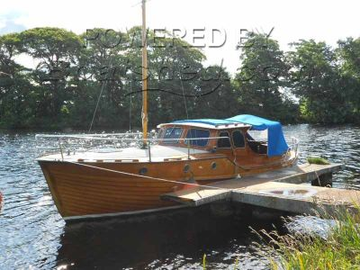 Roslagen 29 Classic Swedish Motor Yacht