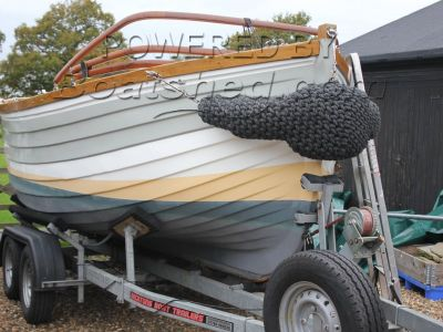 Motor Launch Hastings Beach Boat