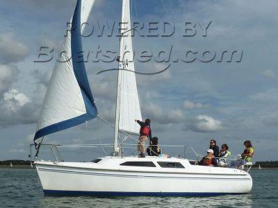 Catalina 250 mk II water ballast