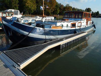 Dutch Motor Barge Tjalk live aboard barge