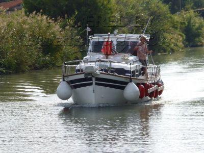 Motor Cruiser MAJONI 42 Menorquin Llaut style coastal cruiser