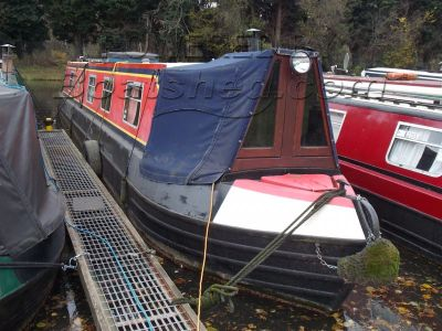 Narrowboat 51 ft trad stern with potential mooring