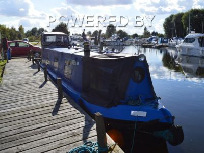 Narrowboat 40ft Trad Stern