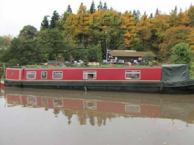 Narrowboat 50ft TradStern With mooring