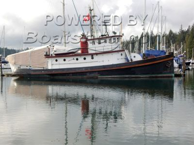 Converted Tug Historic 78 Foot Workboat Liveaboard / Yacht Conversion