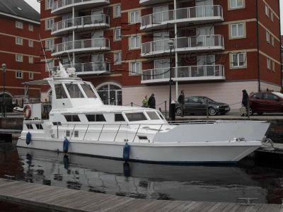 Steel Motor Cruiser 45 Coastal Cruiser