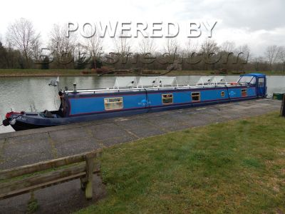 Narrowboat 63 ft cruiser stern live aboard