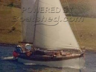 William King & Sons Classic Wooden Sloop 32'