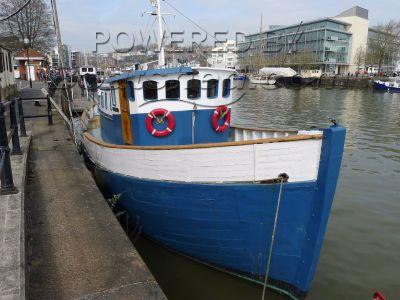 Wooden  Danish Trawler