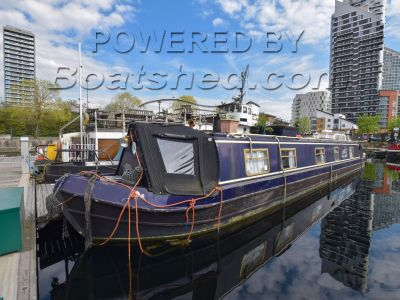 Narrowboat 55ft with London mooring