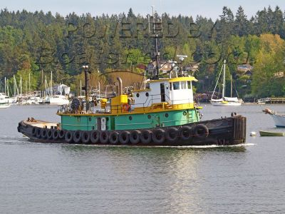 Steel Bushey Navy Tug 100' Commercial Seagoing Workboat