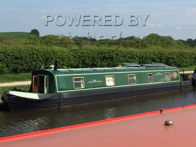 Narrowboat 55ft Cruiser Stern With Mooring