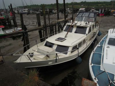 Dutch Steel Motor Cruiser 42ft