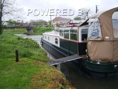 Wide Beam Barge Wheelchair friendly  live aboard barge