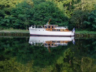 Wooden  Classic Motor Cruiser William Osborne SWALLOW