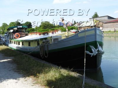 Luxemotor Dutch  Barge 6 passenger Charter Barge or luxury residential barge
