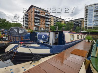 Narrowboat 60ft with London mooring