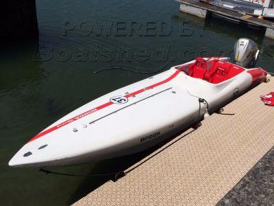 Cougar Honda 225 Race Boat