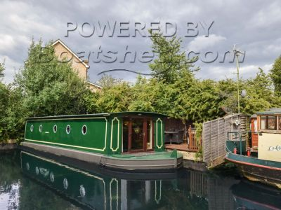 Houseboat 57ft with West London mooring